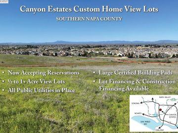 301 Canyon Estates Cir Lot30, American Canyon, CA